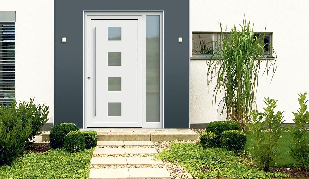 die aluminium hausture von kneer sudfenster spiegelt die personlichkeit der hausbesitzer wieder und
